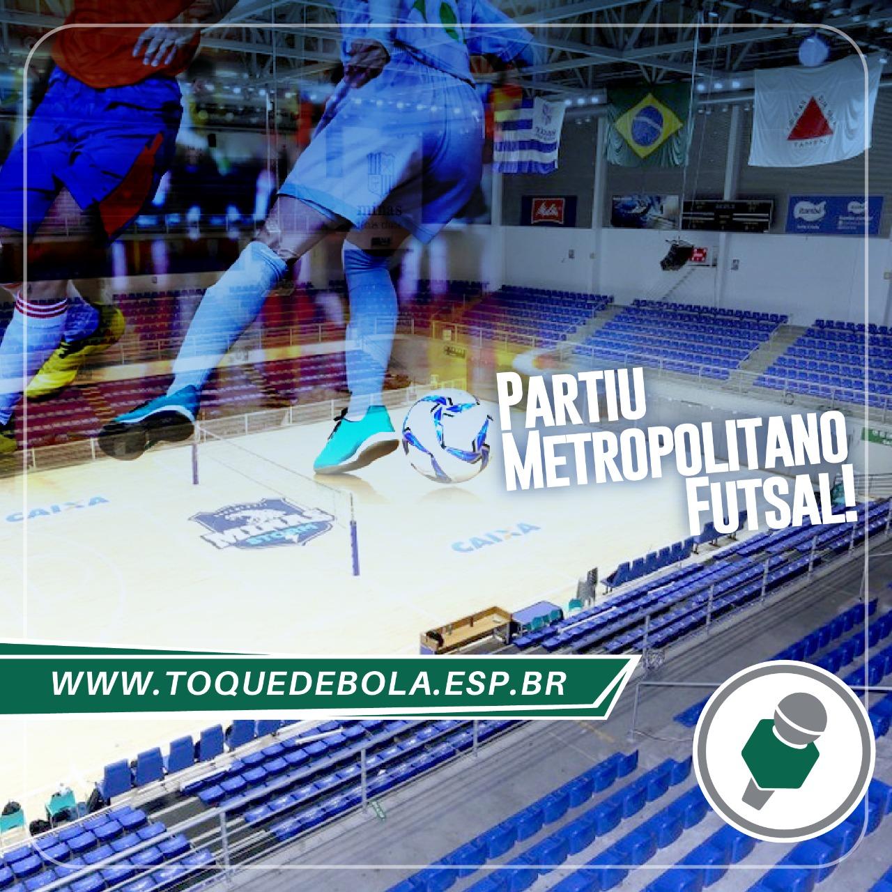 Futsal do Bom Pastor disputa Metropolitano