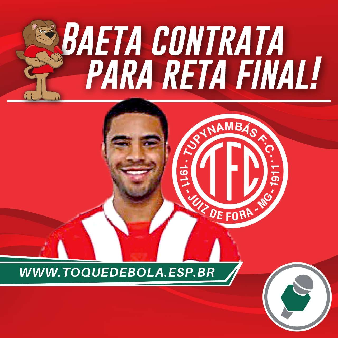 Read more about the article Exclusivo! Após vencer o Gama, Baeta contrata!