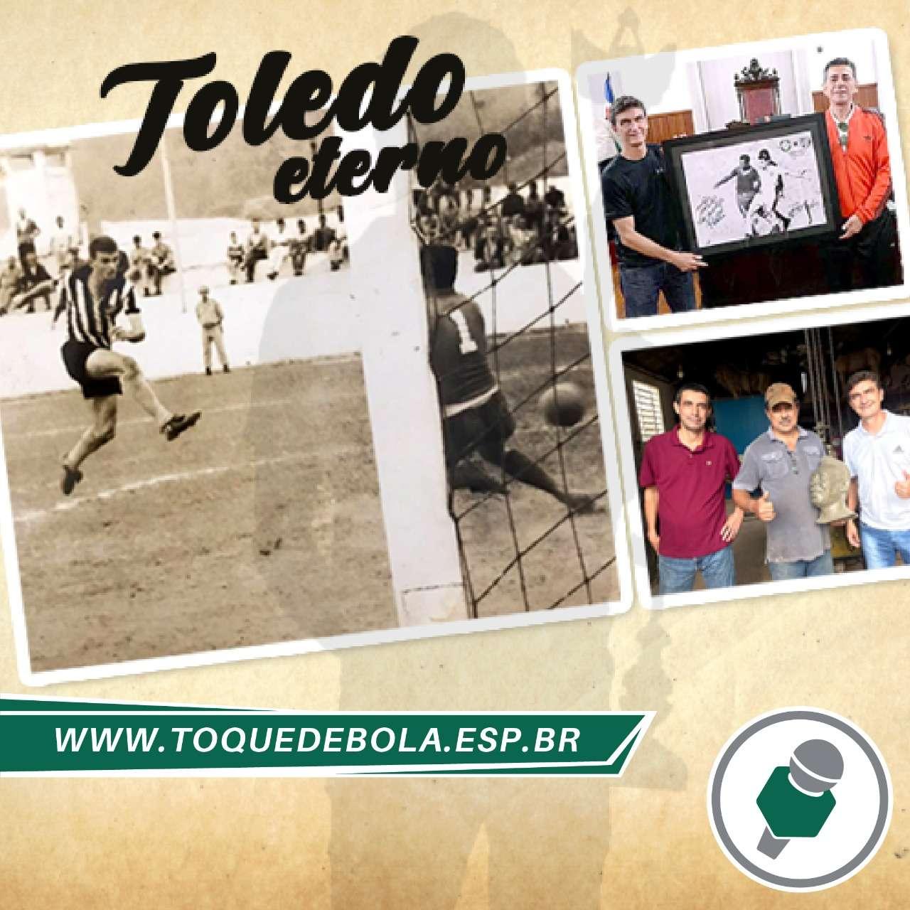 Exclusiva do Toque de Bola: veja como será a estátua de Moacyr Toledo!