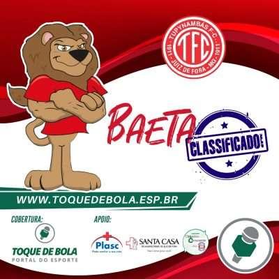 Read more about the article Com vitória, Baeta avança na Série D!