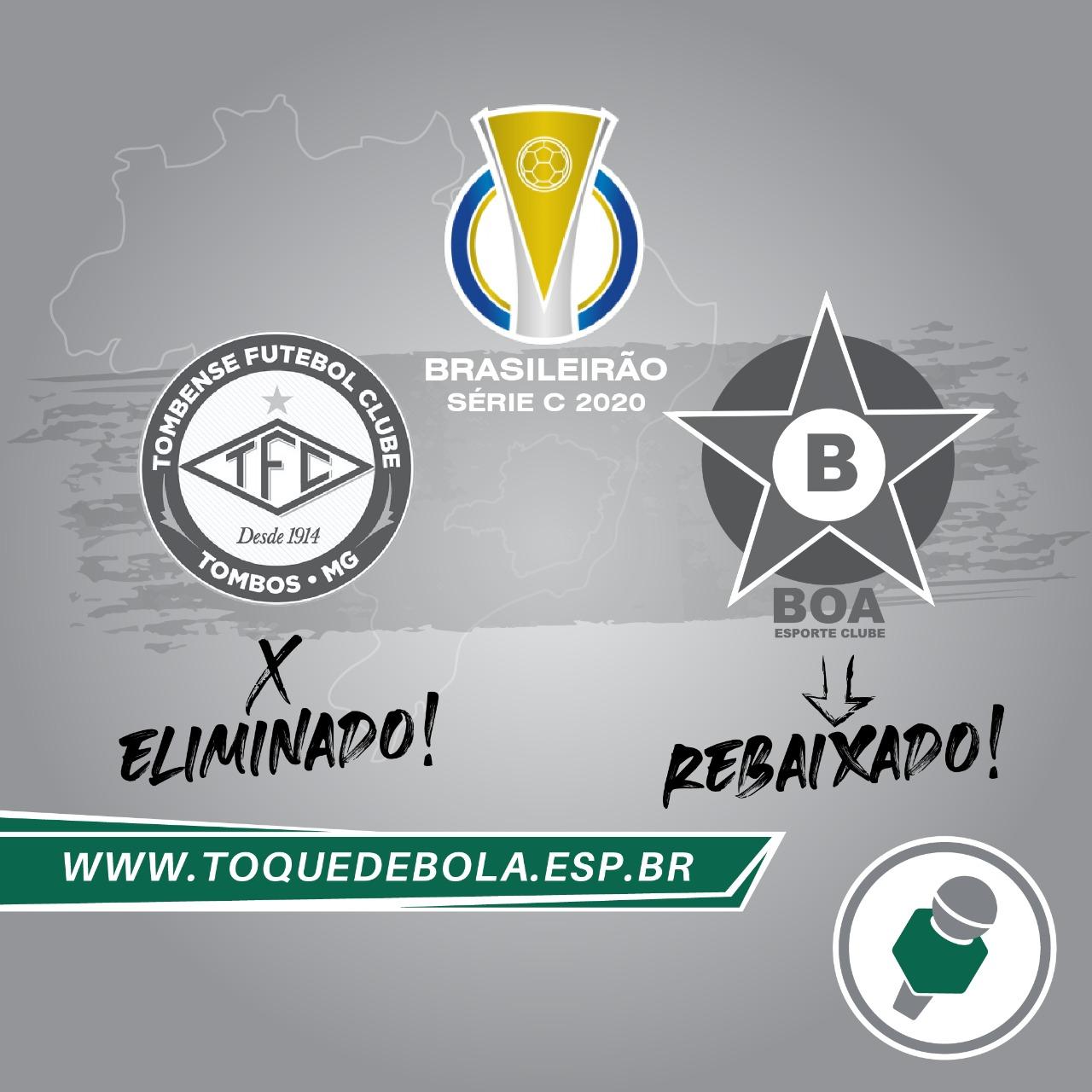 Read more about the article Série C: Tombense tropeça no rebaixado Boa e é eliminado!