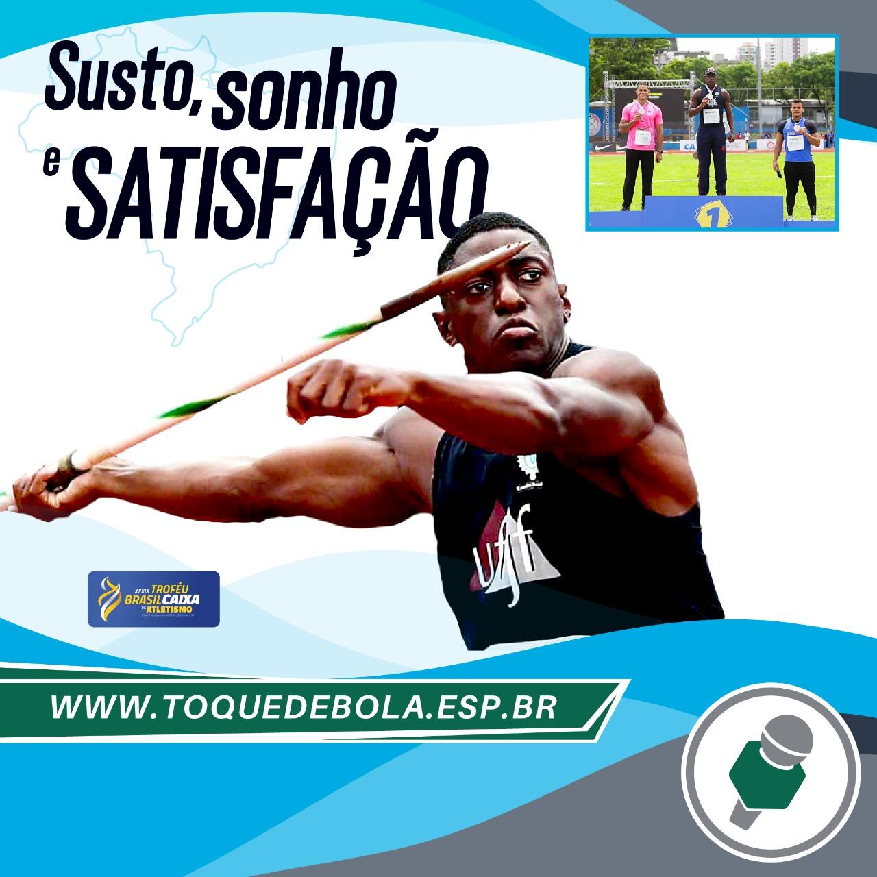 Read more about the article Luiz Maurício: 'Troféu Brasil foi um sonho que acabei realizando'
