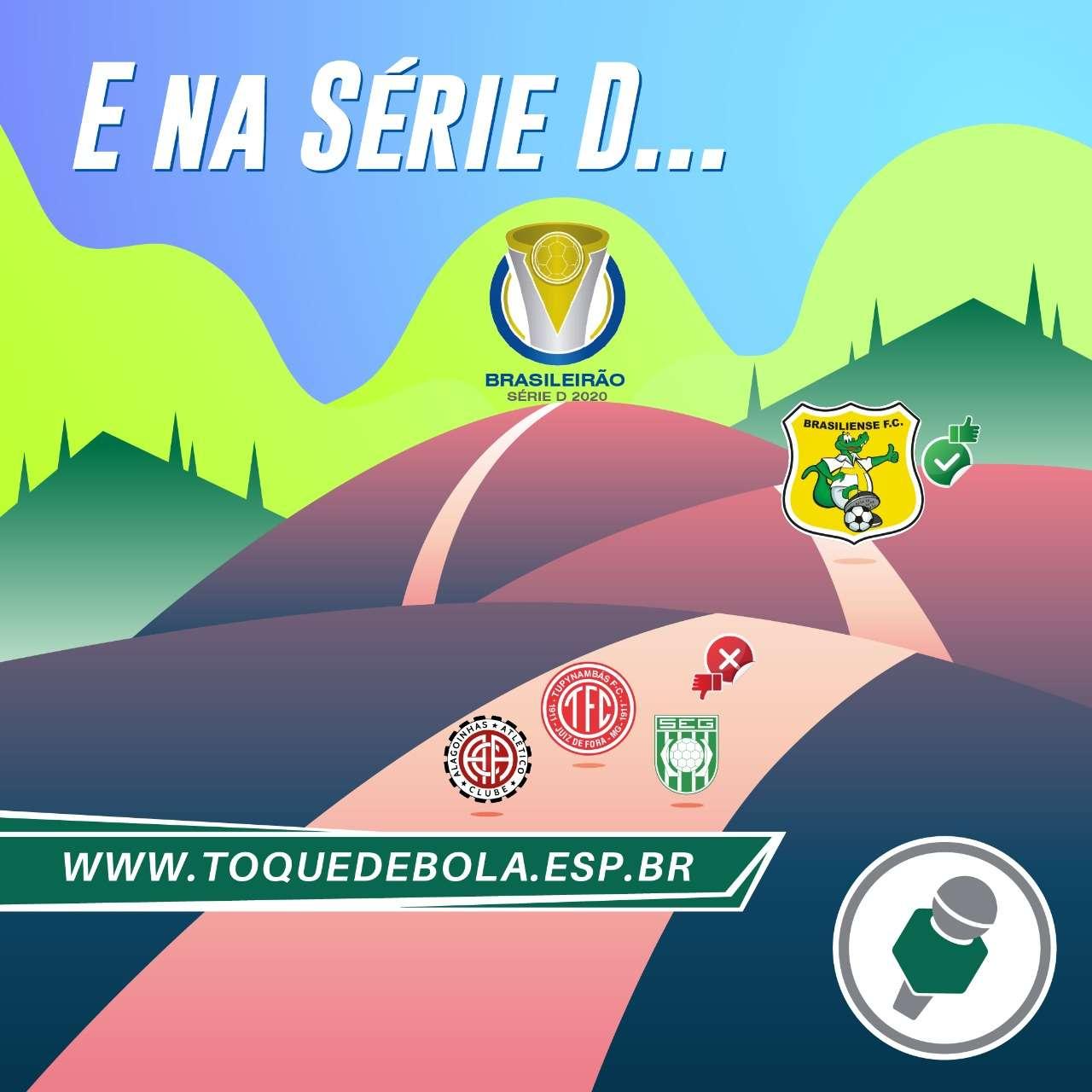 """Read more about the article Série D: times do grupo do Baeta """"param"""" nos goianos. Veja """"tabelão""""!"""