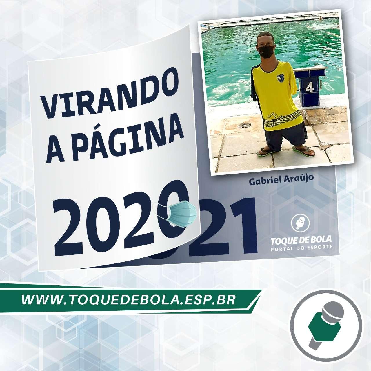 """""""Virando a Página"""": Gabriel Araújo """"mais forte ainda"""" mira ouro nas Paralimpíadas"""