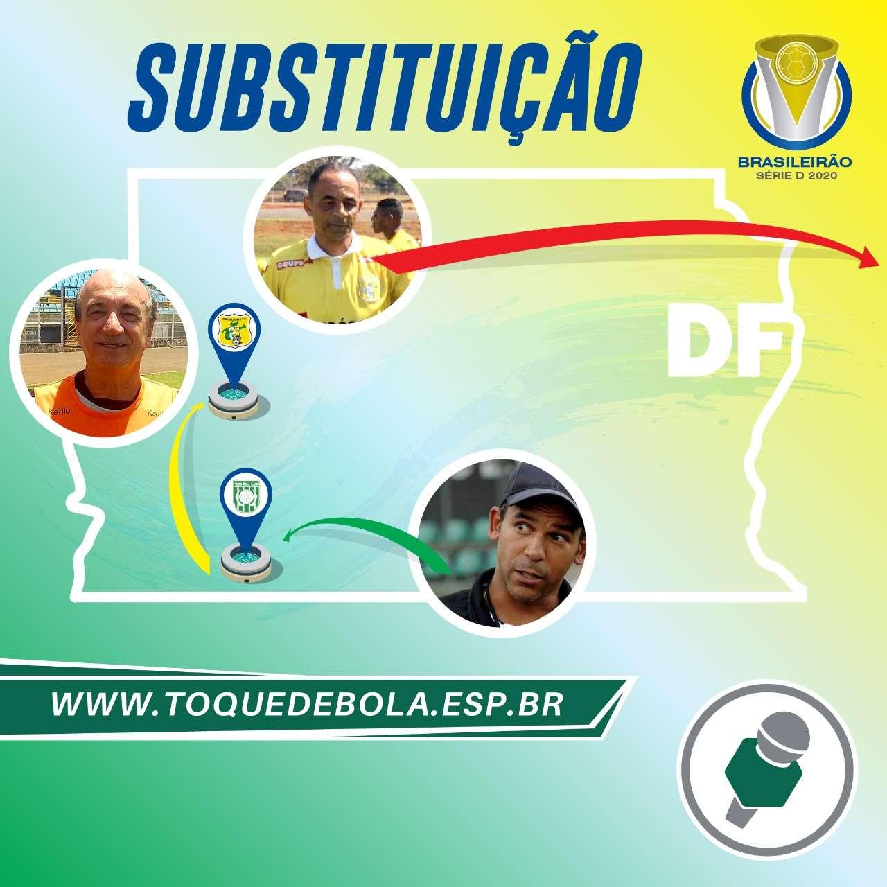 Read more about the article Na Série D, treinador dorme no Gama e acorda no rival Brasiliense