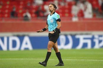 Edina apitou no Mundial de Clubes da Fifa 2021. Foto: Fifa