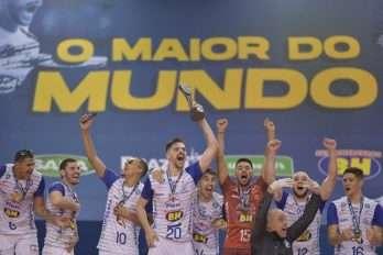 JF Vôlei recebe manifestações pelo título da Superliga B