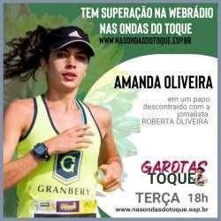 """Amanda Oliveira é convidada do """"Garotas no Toque"""""""