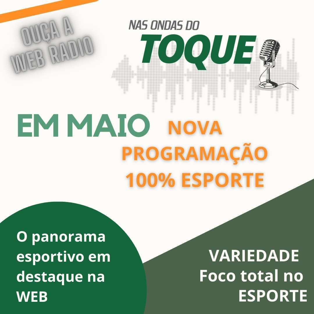 Read more about the article Maio inaugura programação especial Nas Ondas do Toque! Saiba como acompanhar