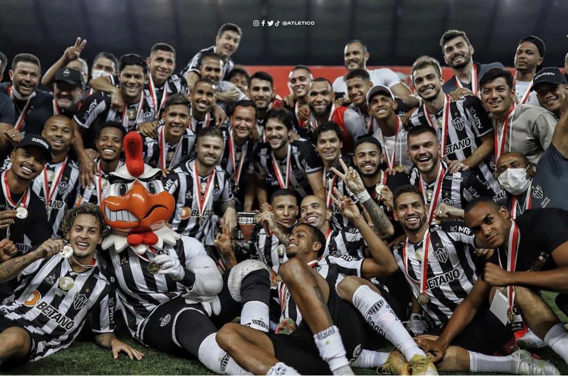Read more about the article Sem gols, com título: Atlético é Campeão Mineiro de 2021