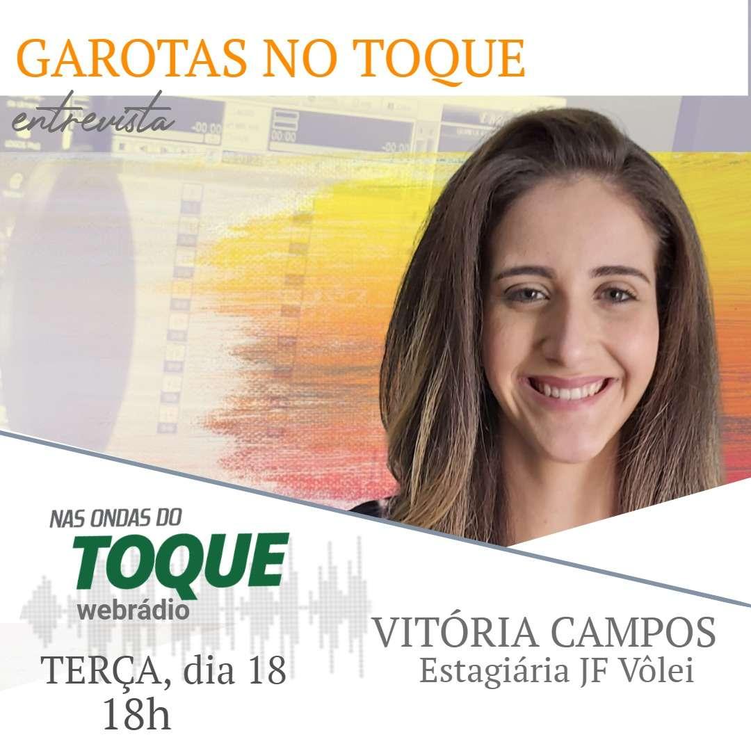 Read more about the article Vitória Campos, estagiária do JF Vôlei, é a entrevistada do Garotas no Toque