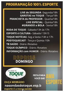 Read more about the article Não perca o domingão Nas Ondas do Toque: veja os horários!
