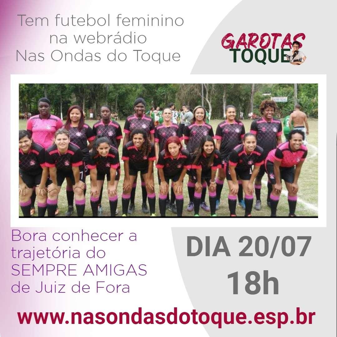 Read more about the article As histórias do Sempre Amigas são o tema do Garotas no Toque