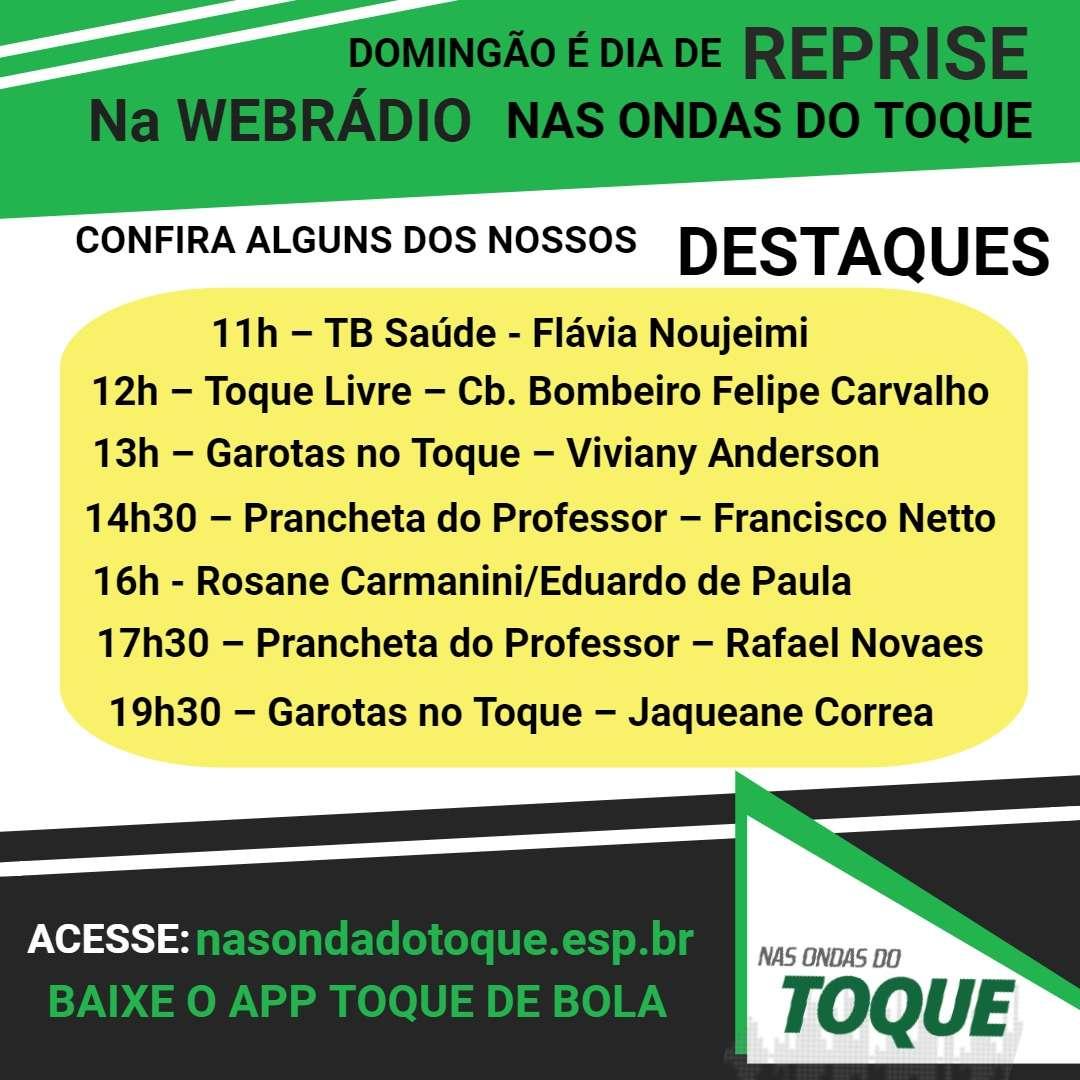 Read more about the article Nas Ondas do Toque: Museu, Jaqueane, Viviany e Francisco na agenda deste domingo