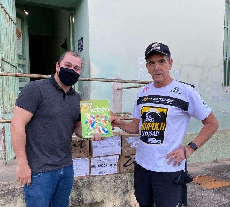 Read more about the article IOR doa livros infantis de autores premiados às escolas de Lima Duarte