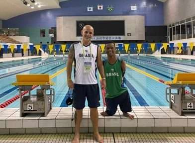 Read more about the article Paralimpíadas: Gabriel Araújo cai na água no Japão!