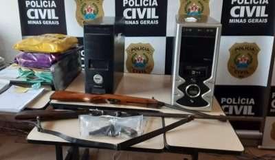 Read more about the article Deu polícia! Presidente do Tupi preso por posse ilegal de armas; no clube, busca e apreensão